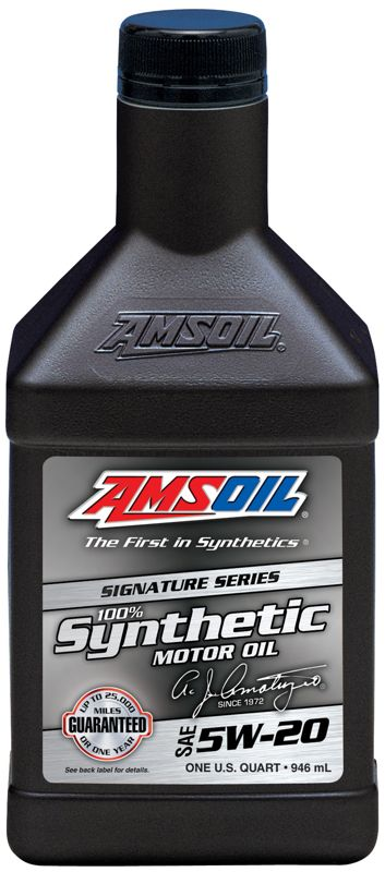 Amsoil Signature Series Synthetic Sae 5w 20 Motor Oil