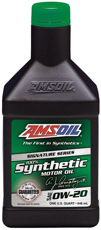 6 QUARTS Amsoil Signature Series Synthetic Motor 0W-20