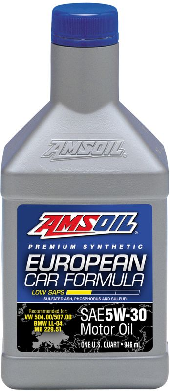 AMSOIL Synthetic European Formula SAE 5W30 Motor Oil