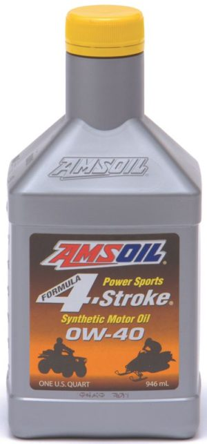 AMSOIL Synthetic Formula 4-Stroke PowerSports 0W-40 Motor Oil