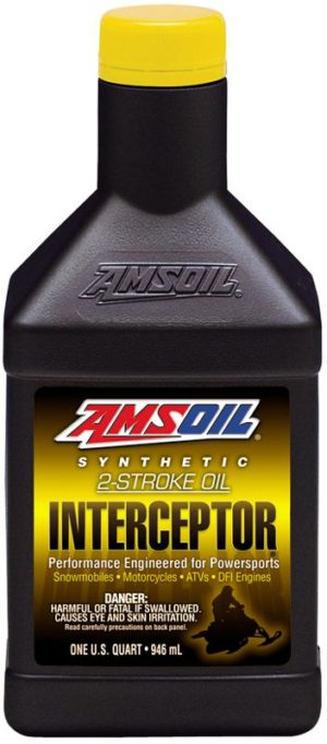AMSOIL Interceptor Synthetic High Performance 2-Cycle Oil