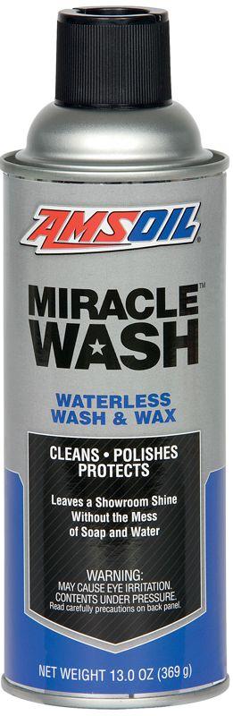 AMSOIL Miracle Wash Waterless Wash and Wax Spray