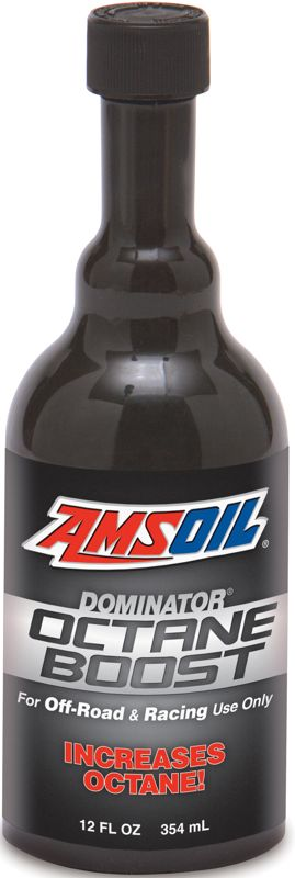 AMSOIL donimator octne boost off-road racing