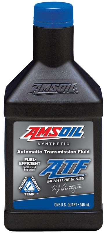 AMSOIL Signature Series Fuel-Efficient Synthetic Automatic Transmission Fluid