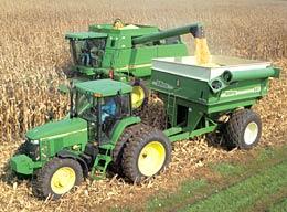 CornPicker-Tractor