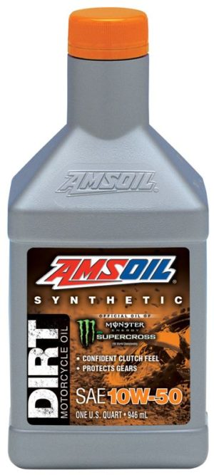 AMSOIL Synthetic 10W-50 Dirt Bike Oil