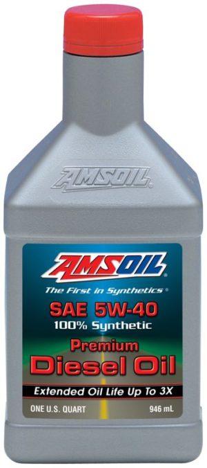 AMSOIL Synthetic SAE 5W-40 Premium Diesel Oil