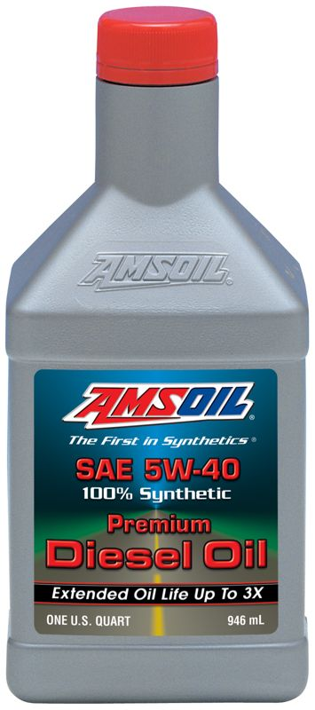 amsoil synthetic sae 5w 40 premium diesel oil cj 4. Black Bedroom Furniture Sets. Home Design Ideas