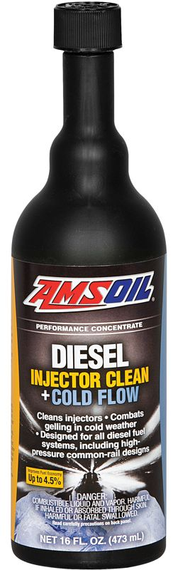 AMSOIL diesel injector clean and cold flow