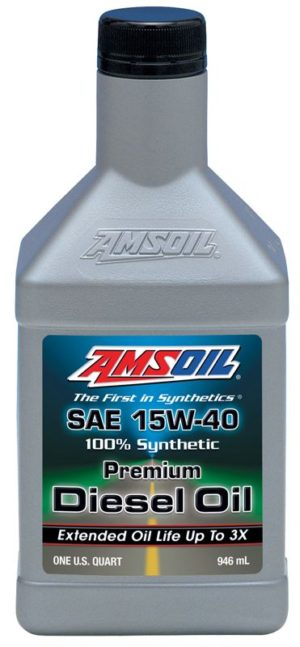 AMSOIL Synthetic SAE 15W-40 Diesel Oil
