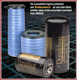 Donaldson Endurance Oil and Air Filters