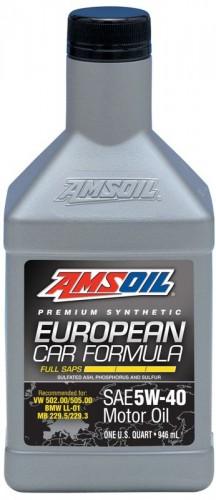 AMSOIL European Car Formula 5W40