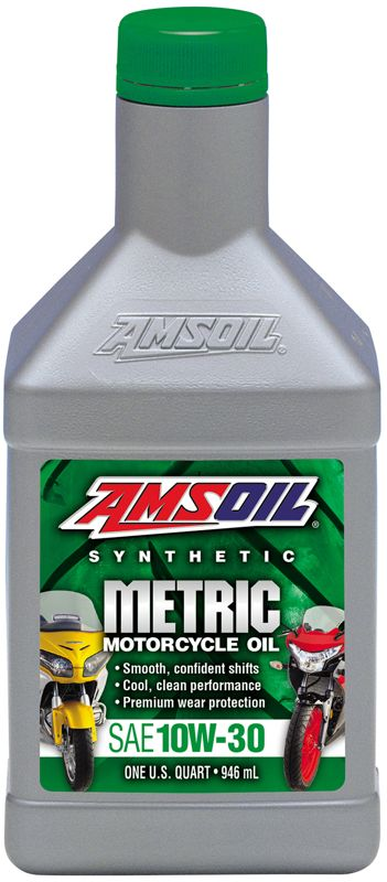 AMSOIL Synthetic Advanced SAE 10W-30 Motorcycle Oil