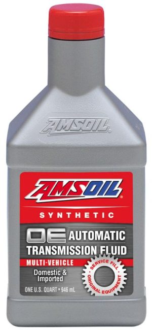 AMSOIL OE Multi-Vehicle Synthetic Automatic Transmission Fluid