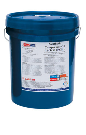 AMSOIL Synthetic Compressor Oils PC Series