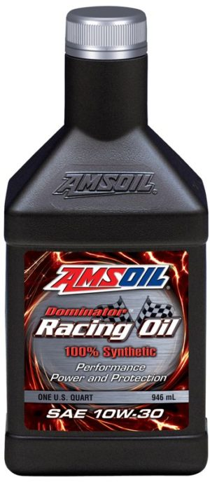 AMSOIL DOMINATOR Synthetic SAE 10W-30 Racing Oil