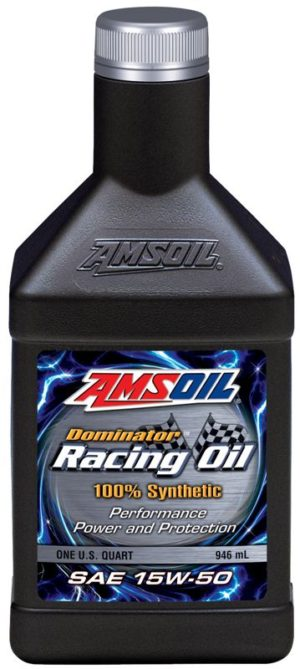 AMSOIL dominator racing oil SAE 15W 50
