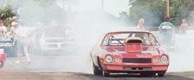 Racing-burnout