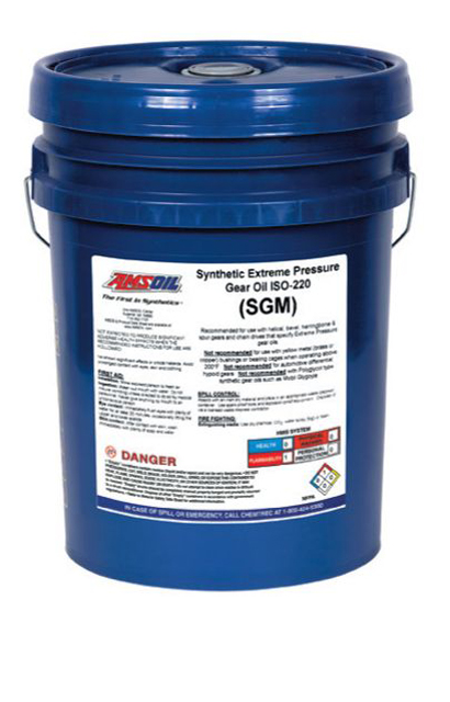 AMSOIL Synthetic Extreme Pressure EP Industrial Gear Oils