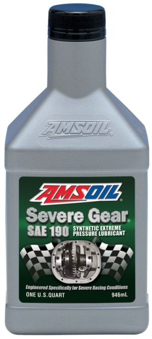 AMSOIL Severe Gear Synthetic Off Road and Drag Racing Gear Lube
