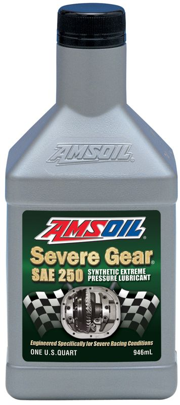 AMSOIL Severe Gear Synthetic SAE 250 Off Road and Drag Racing Gear Lube
