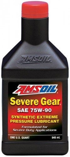 AMSOIL Severe Gear Synthetic SAE 75W-90 Gear Lube