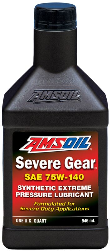 AMSOIL Severe Gear Synthetic SAE 75W-140 Gear Lube