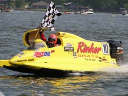 AMSOIL and Rinker Team Wins Champ Boat Series