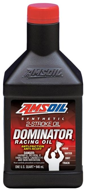 Synthetic dominator 2 stroke racing oil