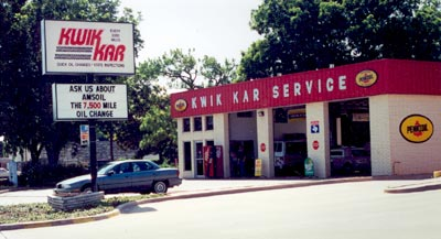 Kwik Kar Lube Informs Customers to Ask About AMSOIL