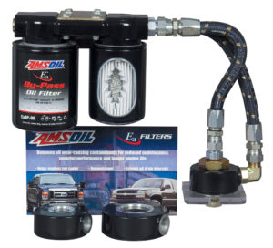 AMSOIL Dual Remote Bypass Filtration System for GM 6.6L Duramax Diesel Engines