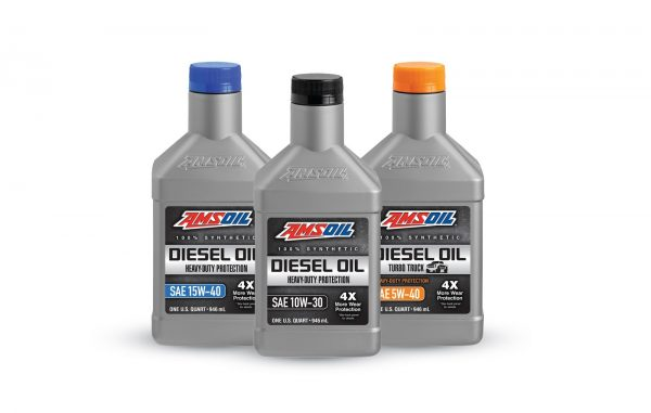 AMSOIL Synthetic Diesel Oils are the best oil for a diesel engine.
