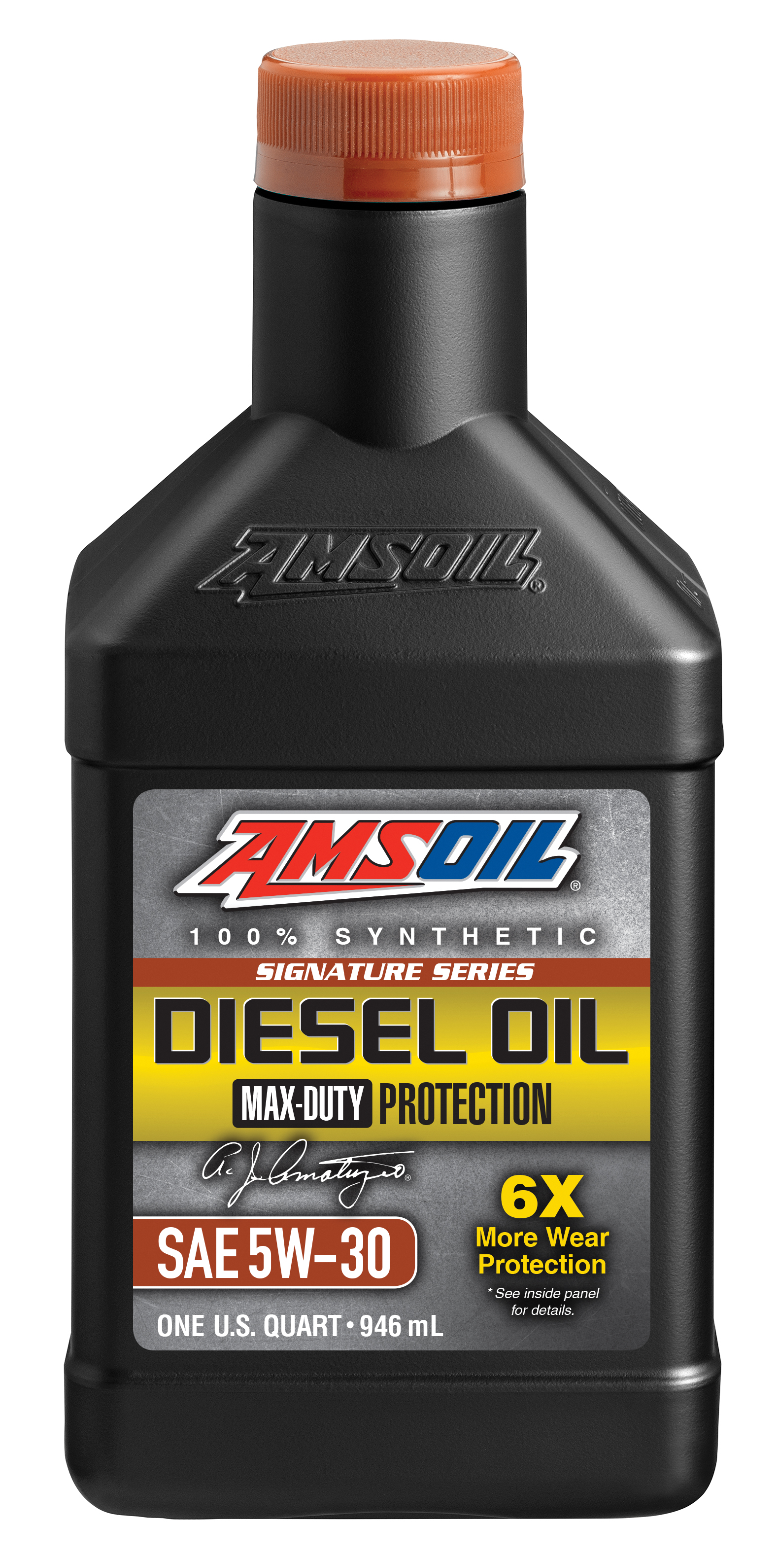 Amsoil diesel engine oil best oil company for Amsoil 5w30 signature series 100 synthetic motor oil