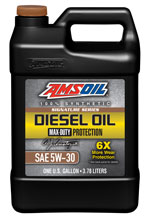 AMSOIL Signature Series Max-Duty Synthetic 5W-30 is the best fleet oil.