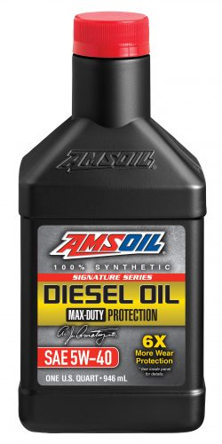 AMSOIL Signature Series Max-Duty Synthetic SAW 5W-40 Diesel Oil
