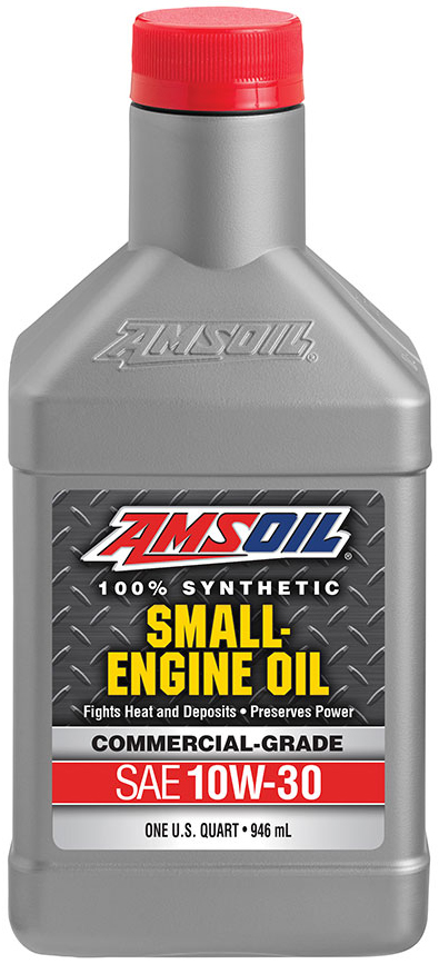 amsoil commercial grade synthetic sae 10w 30 small engine oil