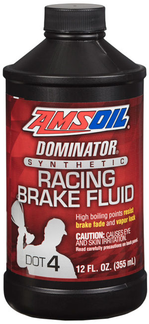 AMSOIL Dominator Synthetic Racing Brake Fluid