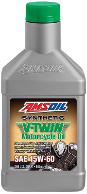 AMSOIL Synthetic SAE 15W-60 V-Twin Motorcycle Oil