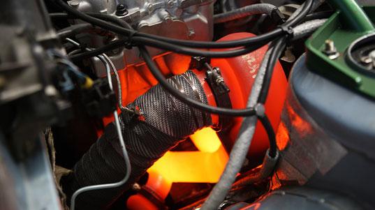 Turbochargers run HOT