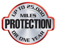 Up to 25,000 Miles Protection or One Year with Signature Series