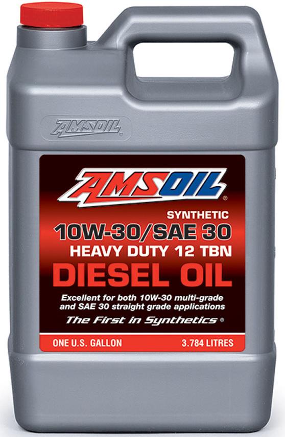 AMSOIL 10W-30/SAE30 Synthetic Heavy Duty Diesel Oil