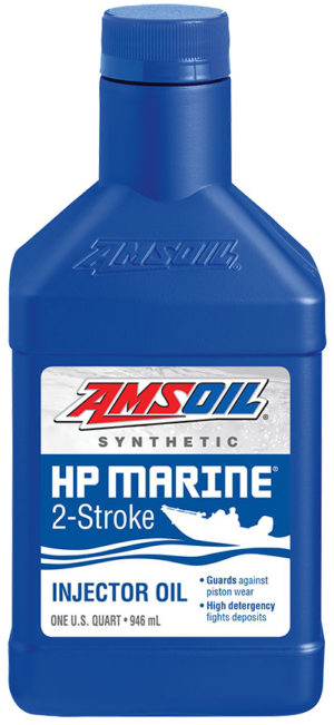 AMSOIL Synthetic HP Marine 2-Stroke Injector Oil