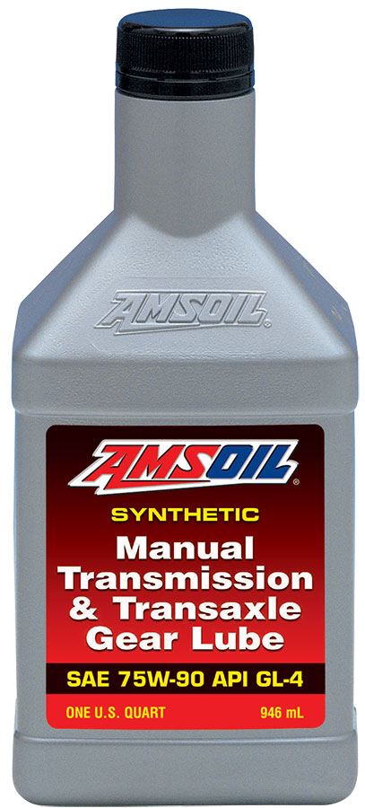 AMSOIL Synthetic Manual Transmission & Transaxle Gear Lube SAE 75W-90 API GL-4