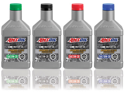 AMSOIL OE 100% Synthetic Motor Oils Favored by Mechanics and Drivers Seeking Peace-of-Mind Protection at an Exceptional Value