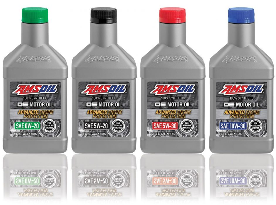 AMSOIL OE Series 100% Synthetic Motor Oils