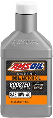 AMSOIL XL Series Synthetic SAE 10W-40 Motor Oil