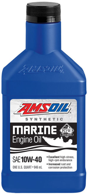 AMSOIL Synthetic SAE 10W-40 Marine Engine Oil NMMA Certified
