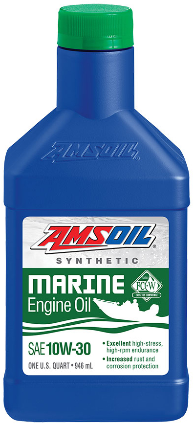 AMSOIL Synthetic SAE 10W-30 Marine Engine Oil NMMA Certified