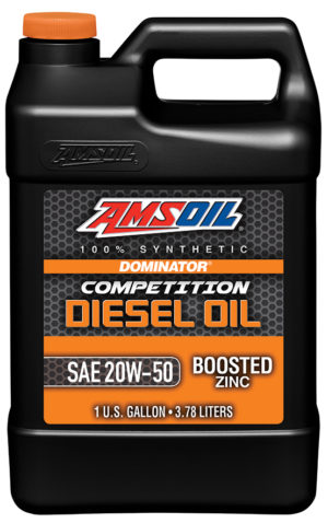 AMSOIL Dominator Synthetic 20W-50 Competition Diesel Oil