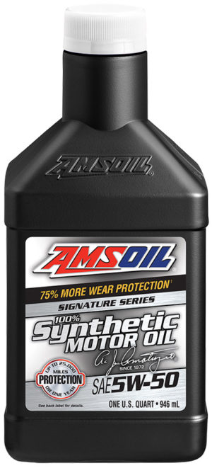 AMSOIL Signature Series Synthetic SAE 5W-50 Motor Oil
